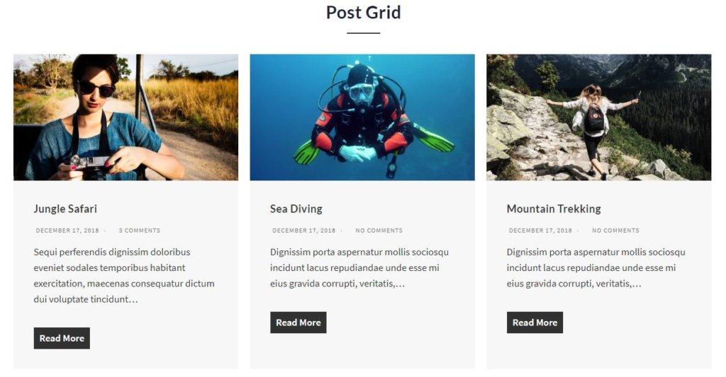ultimate gutenberg post grid